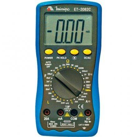 Multímetro Digital ET-2082C - Minipa