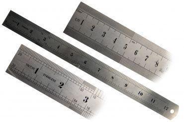 Régua de Aço em Inox de 60cm - Brasfort