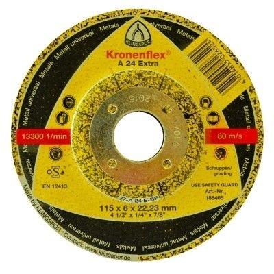 Disco para Ferro de 4.1/2 x 7/8 A24 Extra - Klingspor
