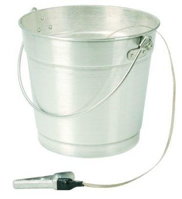 Balde de Alumínio 13 litros com Cordoalha - Plastcor