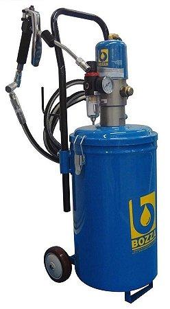 Propulsora Pneumática (Engraxadeira) para Graxa Carrinho de 14kg - Bozza