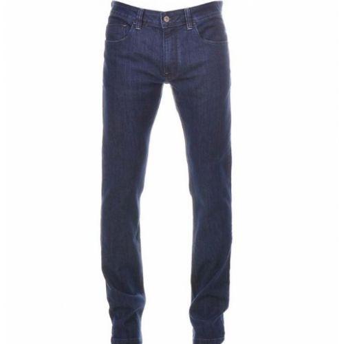 Calça Jeans Básica para Trabalho (Vários Tamanhos) - Blue Back