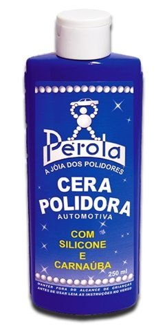 Cera Polidora Pérola de 250ml - Pérola