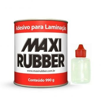 Resina para fibra de Vidro 990gr com Catalizador - MaxiRubber
