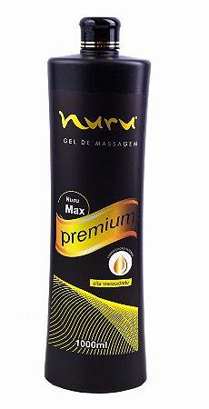 Nuru Gel para massagem sensual Premium Max 1000 ml