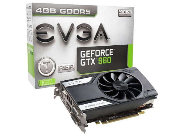 Geforce Evga Nvidia Gtx 960 4Gb 128Bit 7010Mhz
