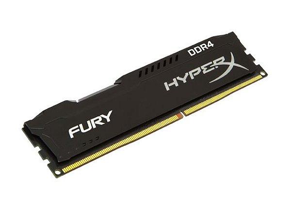 Memória Desktop Gamer Ddr4 Hyperx Fury 8Gb 2133Mhz Non-Ecc Black