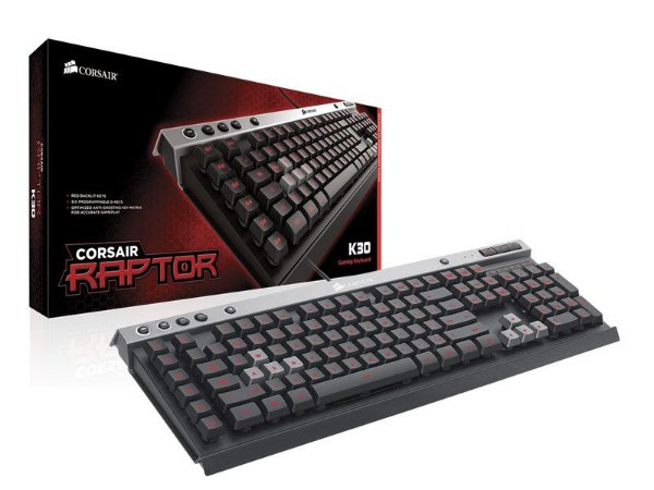 Teclado Gamer Corsair Raptor K30 Usb Preto