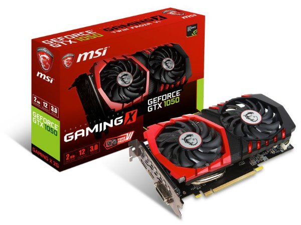 Geforce Msi Gtx 1050 Gaming X 2Gb Ddr5 128Bit 7008Mhz