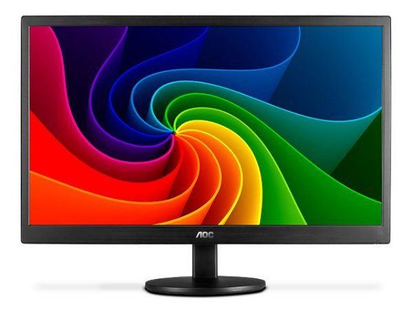 Monitor Led Aoc 18,5 1366 X 768 Hd Widescreen Vga
