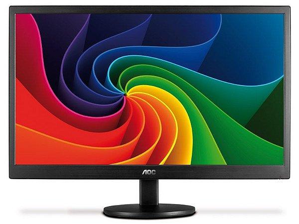 Monitor Led 21.5 Aoc Led 1920X1080 Widescreen Full Hd Vga Vesa
