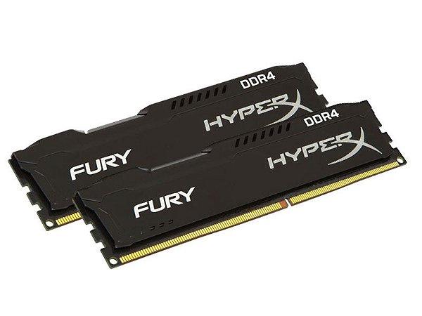 Memória Desktop Gamer Ddr4 Hyperx Fury 16Gb (2X8Gb) 2133Mhz