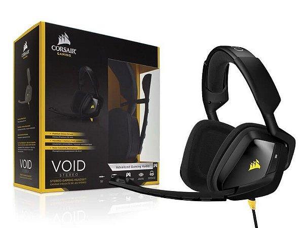 Headset Gamer Corsair Void 2.0 Stereo Preto CA-9011131-NA