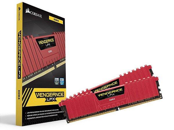 Memória Desktop Gamer Ddr4 Corsair Cmk16Gx4M2B3000C15R 16B (2X8Gb) 3000Mhz