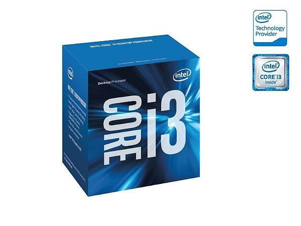 Processador Intel Bx80662I36100 i3 6100 socket 1151 3.70Ghz 3Mb Cache Skylake 6Ger