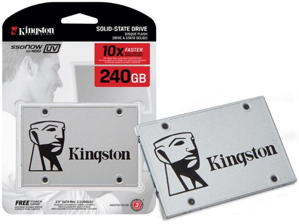 "Ssd Kingston Suv400S37/240G Uv400 240Gb 2.5"" Sata Iii Blister"