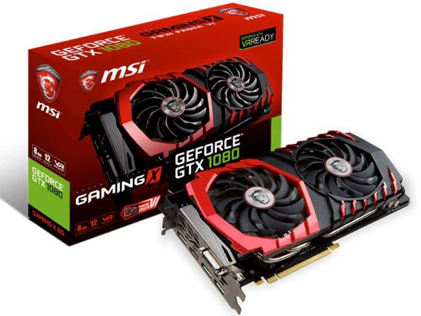 Geforce Msi Nvidia 912-V336-067 Gtx 1080 8Gb Ddr5 256Bit 10108Mhz