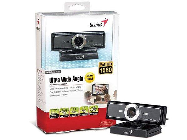 Webcam Genius 32200213101 Widecam F100 Tl Full Hd Ultra Wide
