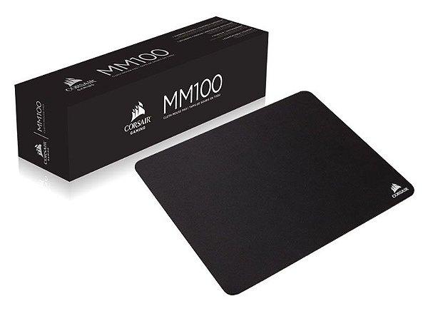 Mouse Pad Gamer Corsair Ch-9100020-Ww Mm100 32 X 27 X 3Cm Preto