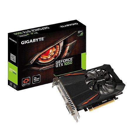 Placa de vídeo nvidia gigabyte gtx 1050 2gb gddr5 128Bit 7008Mhz GV-N1050D5-2GD