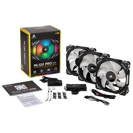 Cooler Fan Corsair Gamer ML 120 Pro RGB, CO-9050076-WW
