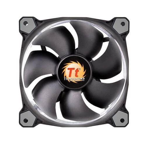 Cooler Fan Thermaltake Riing 140mm Led Branco 1400RPM CL-F039-PL14WT-A
