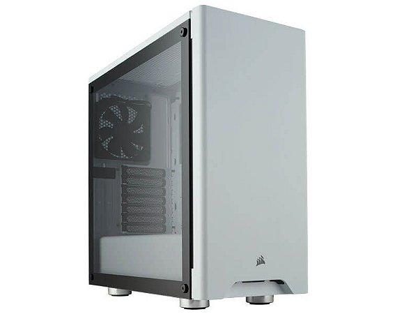 Gabinete Gamer Corsair Carbide Series 275R branco com vidro temperado, CC-9011133-WW