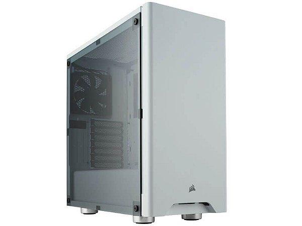 Gabinete Gamer Corsair Carbide Series 275R branco com acrílico, CC-9011131-WW