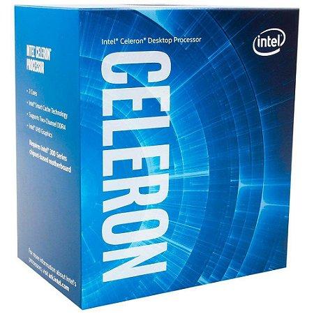 Processador Intel BX80684G4900 Celeron g4900 socket 1151 3.10Ghz 2Mb Cache 8Ger