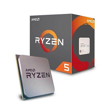 Processador AMD Ryzen 5 2600 3.9GHz AM4, YD2600BBAFBOX