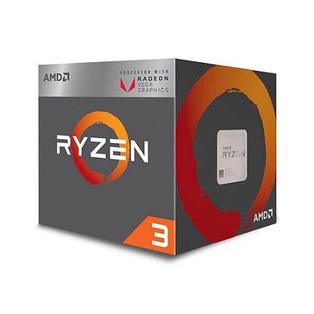 Processador AMD Ryzen 3 2200G 3.7GHz AM4, YD2200C5FBBOX