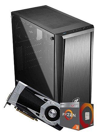 Pc Gamer Amd, R3 2200G, Gtx 1060 6gb, 8gb de ram, Hd 1Tb, fonte 500w