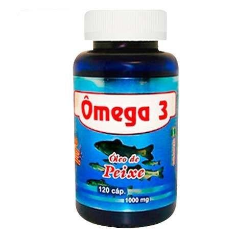 Ômega 3 - 120cáps (Melcoprol)