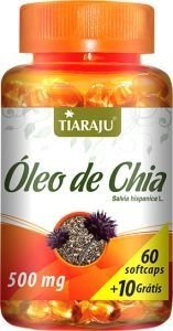 Óleo de Chia 500mg - 70 Cáps (Tiaraju)