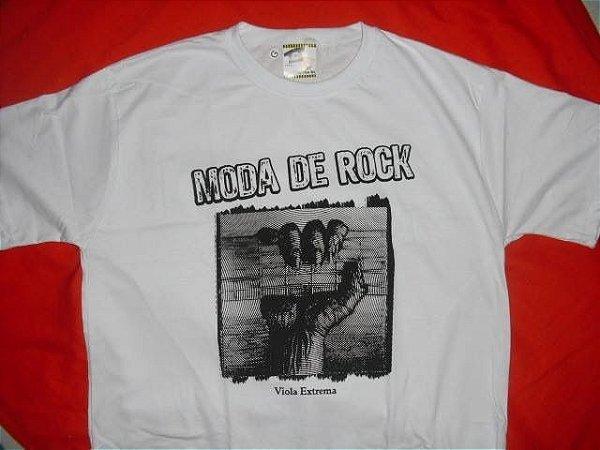 Camiseta Moda de Rock Branca (P, M, G, GG e XG)