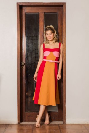 VS0139 - Vestido color