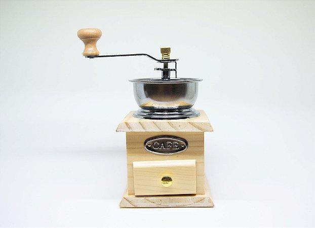 Moedor de café de madeira P