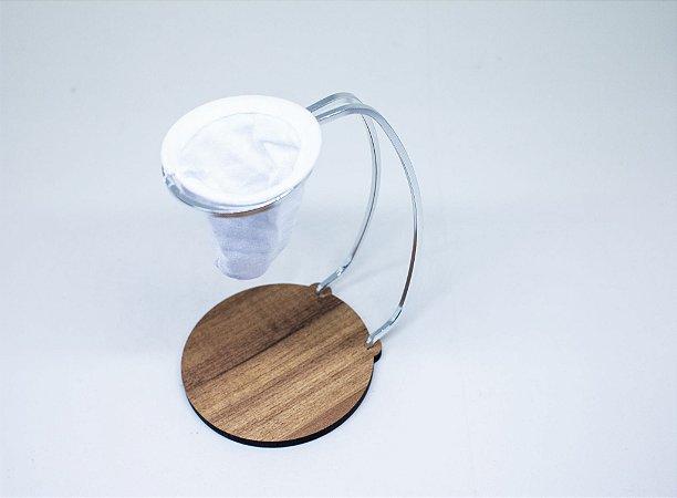 Coador de café individual de alumínio - ALU