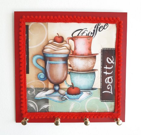 Porta Caneca Coffee Latte Taça