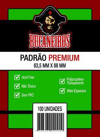 Sleeve Padrão Premium (63,5x88) - Bucaneiros