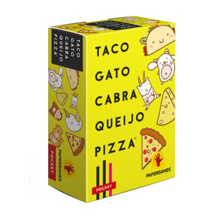 Taco Gato Cabra Queijo Pizza