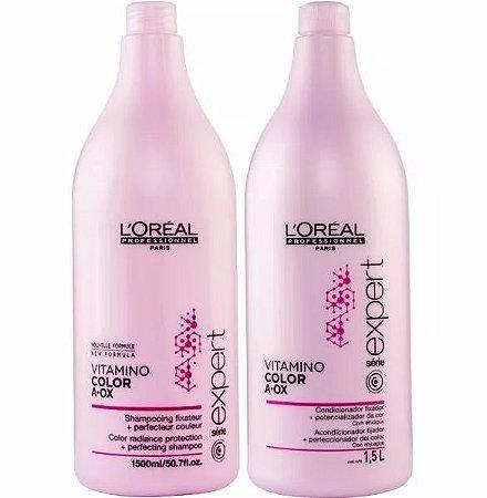 717696dbd Loreal Vitamino Color Shampoo 1500ml + Condicionador 1500ml - Pura ...