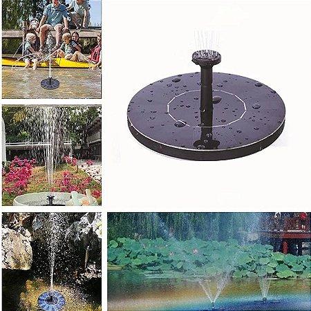 Mini Fonte de Energia Solar Painel solar flutuante Decoração do jardim piscina aquário