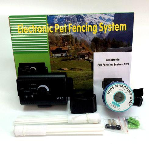 Cerca Eletrônica Invisível Para adestramento de Cães C/ 1 Coleira