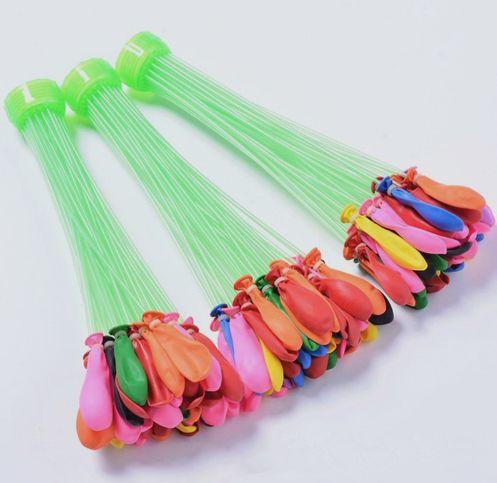 Kit Enchedores de balão de água com 111 Balões Buch Baloons para guerra de água