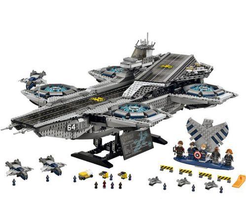 Blocos de montar Marvel Base Shields 3057 peças Compatível Lego