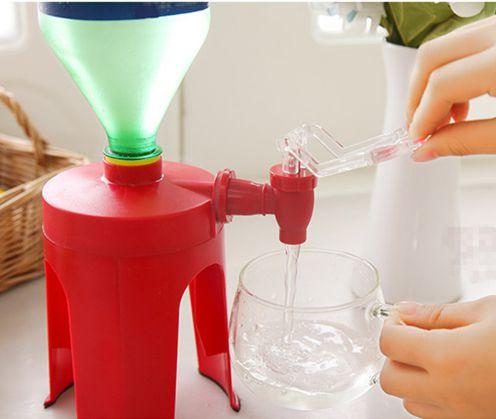 Fizz Saver - Dispenser para refrigerante com torneirinha e Base mais alta e mais segura.