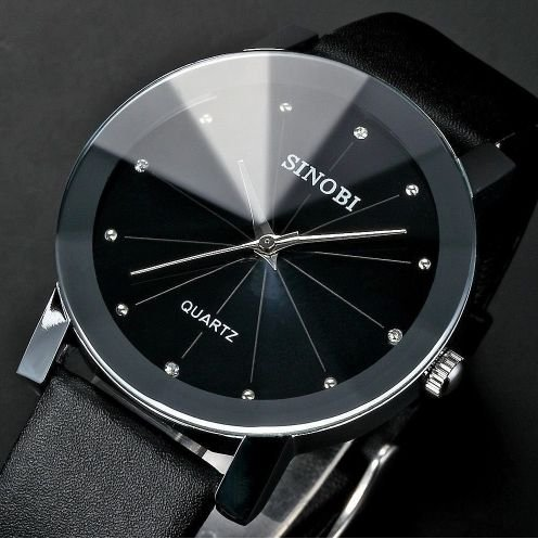Relógio Sinobi Diamond Quartz