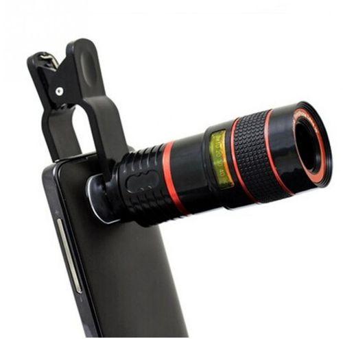 Lente para Smartphone Super Zoom 12X - telescópio modelo Universal