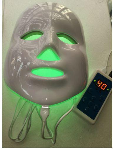 Máscara Fototerapia Led 7 cores / Anti-Acne Anti-Rugas Tratamento de cicatrização clareamento e umidade da pele.